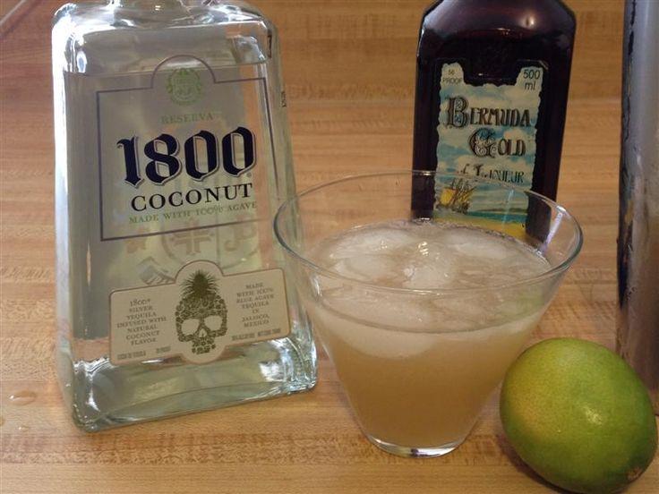 1800 Coconut Tequila Margarita