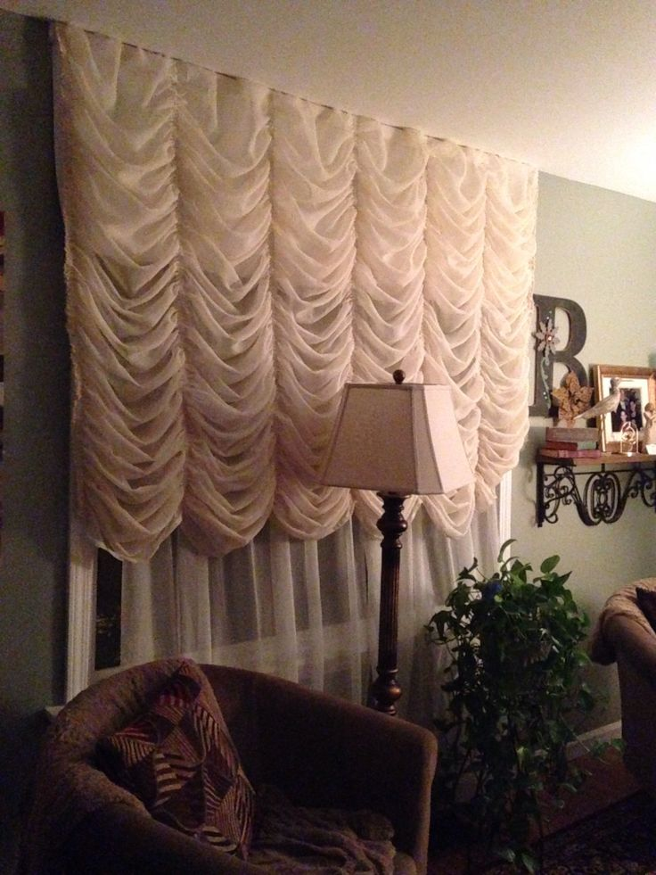 40 best curtains images on pinterest window treatments curtains and balloon shades for Balloon curtains for living room