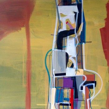 """""""Für Immer"""" by Jim Harris. A beautiful original contemporary abstract painting by Jim Harris. >> Pin now <<"""
