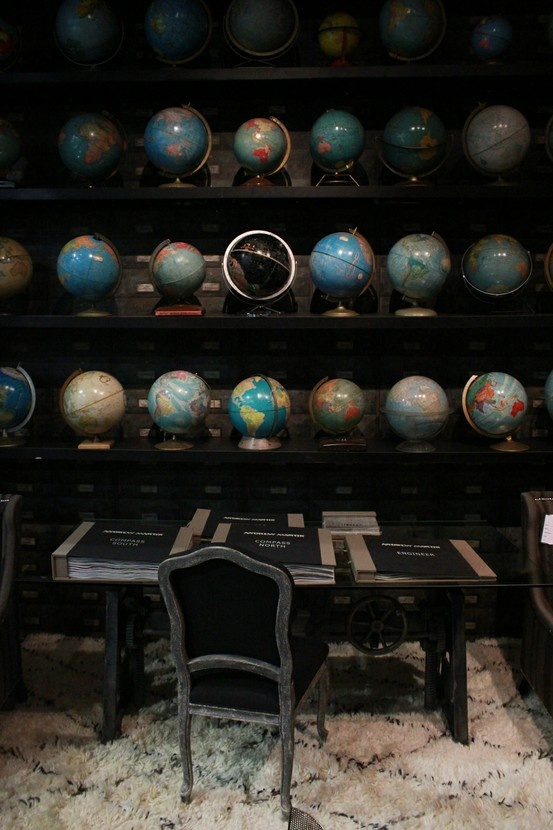 Andrew Martin @ IFFS Globes    sick collection!!
