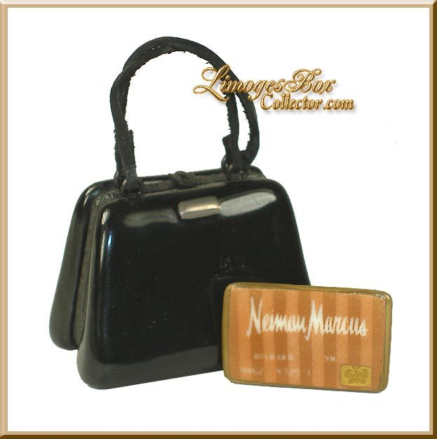 Black Handbag with Neiman Marcus Credit Card (Rochard)