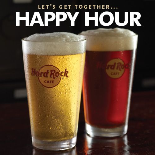 Hard Rock Cafe Hong Kong Happy Hour