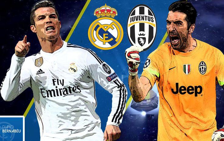 El #RealMadrid busca la gran final de la Champions League contra la Juventus de Turín en el estadio Santiago Bernabéu.