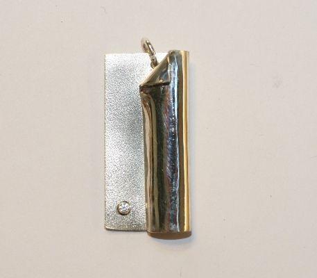Workshop zilveren hanger maken #Atelier DOS