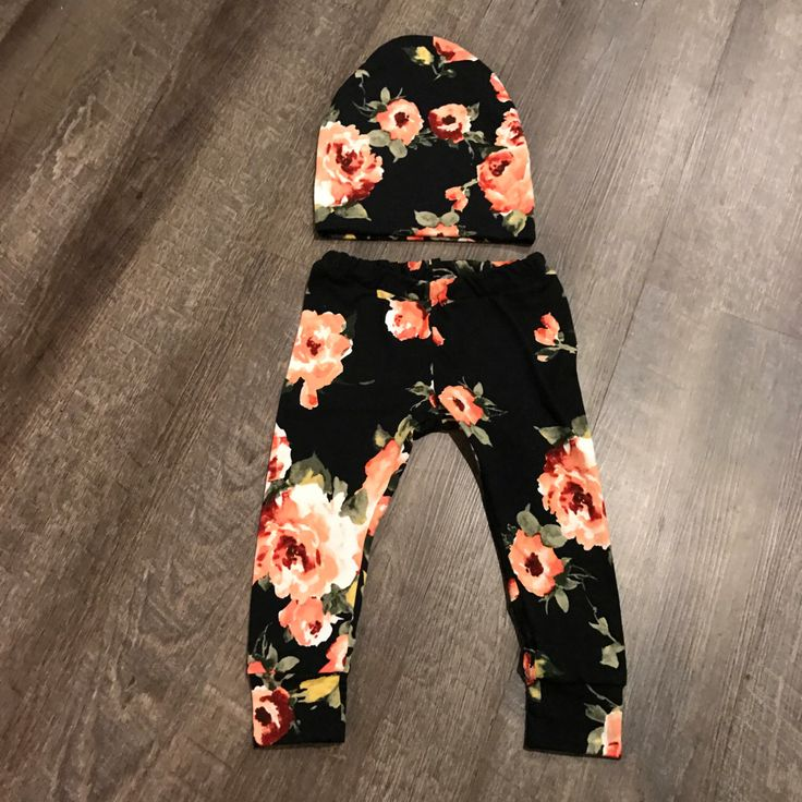 A personal favorite from my Etsy shop https://www.etsy.com/listing/504158961/coral-floral-leggings-sew-twich-baby