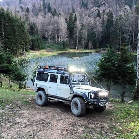 Land Rover Defender 110 Td5 Sw County expedition adventure. Driving the best car in the world.  I'm agree with! Lobezno