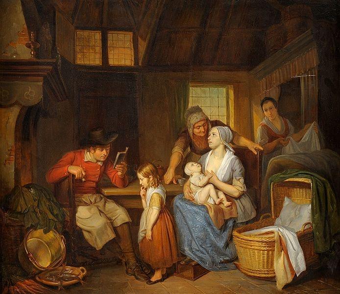 File:Aren Bakker Eine glückliche Familie 1840.jpg