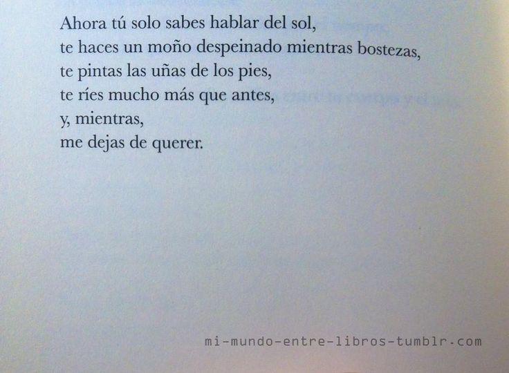 Flee Thoughts Of Loneliness And >> Baluarte - Elvira Sastre | Más con menos..! | Pinterest