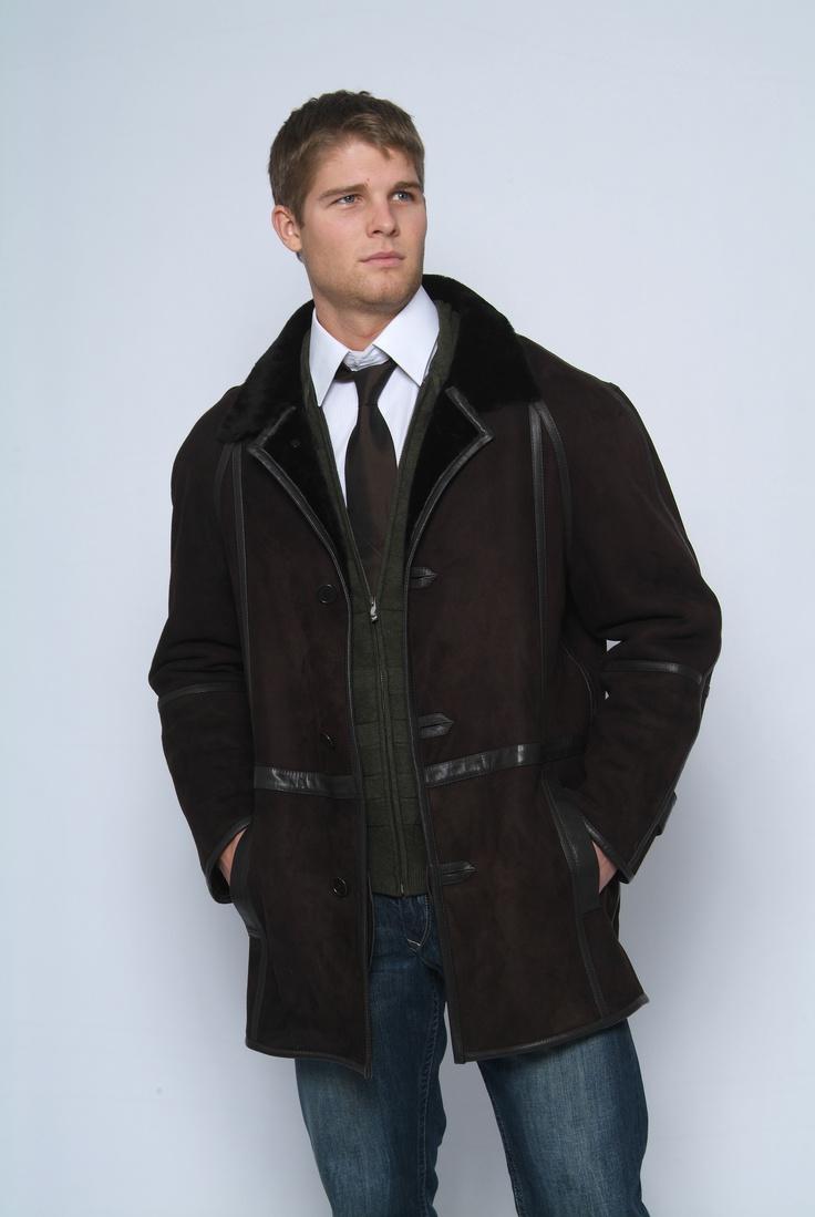 Men's Shearling Coat, Adrien