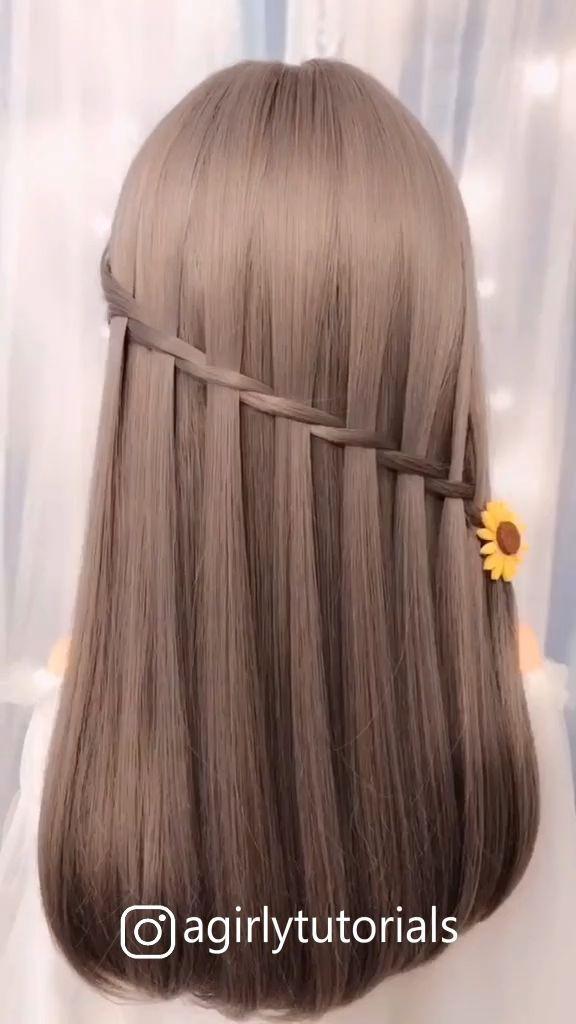 Hairstyles Videos For Long Hair Easy In 2020 Hair Styles Long Hair Tutorial Long Hair Styles