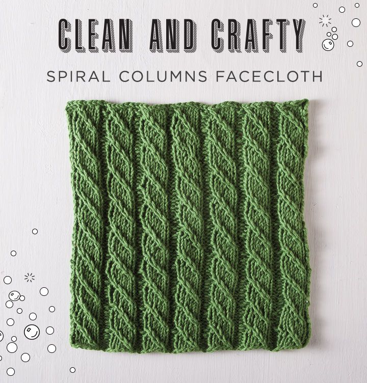 Free Knitted Facecloth Pattern