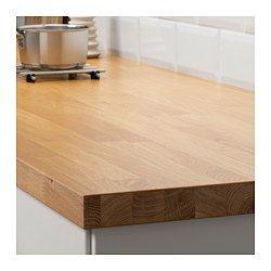 SKOGARP Plan de travail sur mesure, chêne - chêne - 45.1-63.5x4.0 cm - IKEA