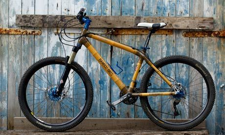 With the durability of steel and a unique aesthetic appeal, bamboo bikes are like nothing else on the market. Photograph: Christopher Thomond