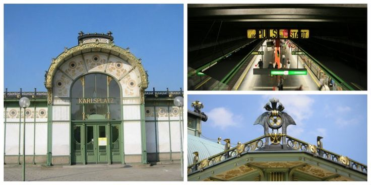 Eleganza asburgica per la stazione di Karlsplatz a #Vienna
