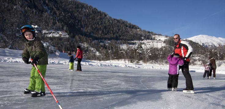 Eislaufen #Winter #badeseeried #tiroleroberland