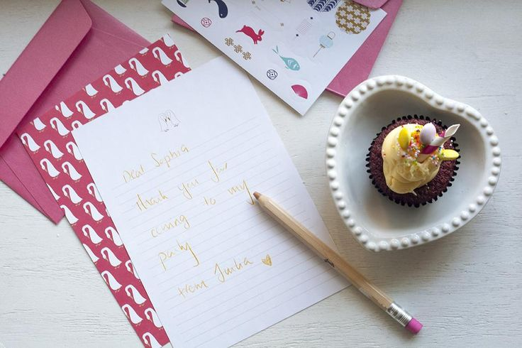 Start your party planning with our new East Collection. Let your children invite their friends with our writing paper