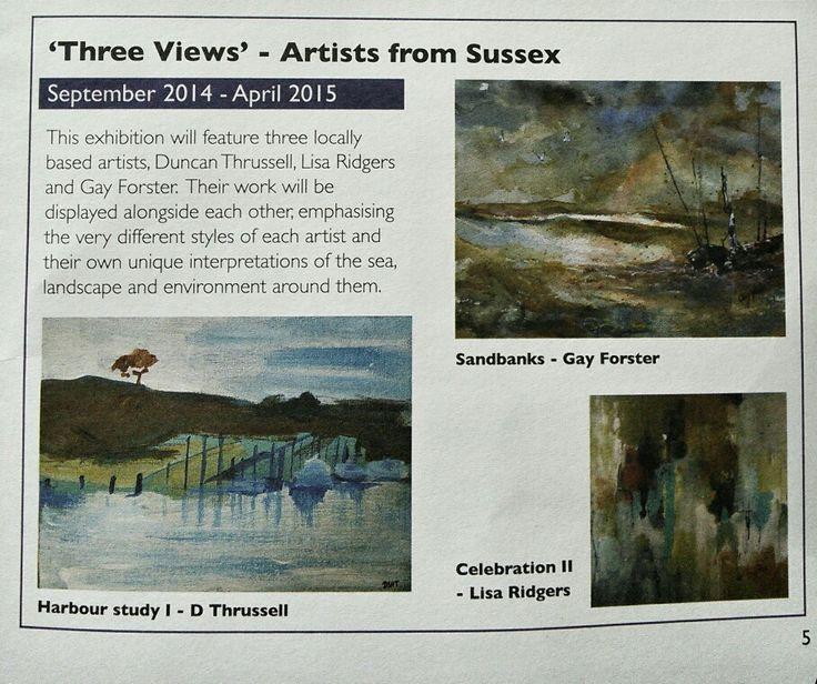 'Three views' exhibition