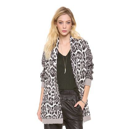 Gifts for Her: Leopard Print Cardigan   Juicy Couture