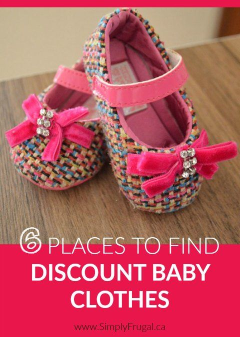 Babies grow so fast, it's hard to keep them in clothes that fit! Don't miss these great Places To Find Discount Baby Clothes that are of great quality and fit easily into your limited budget!