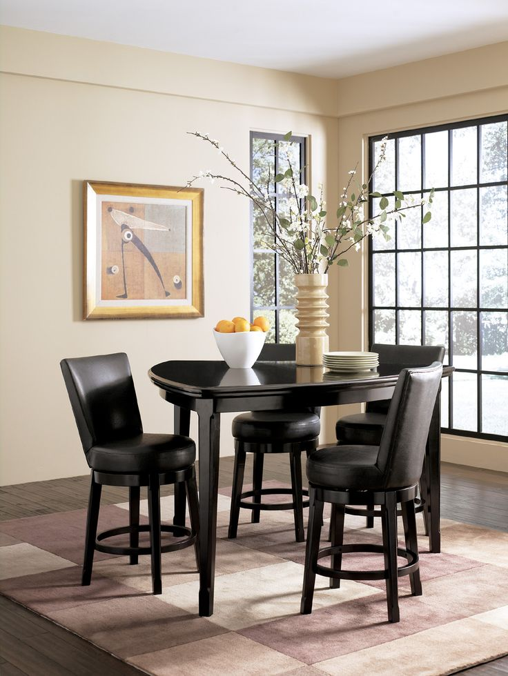Best  Counter Height Dining Sets Ideas On Pinterest Tall - Triangle dining table set