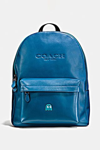 coach pac man blue ghost bag. 2016 limited edition