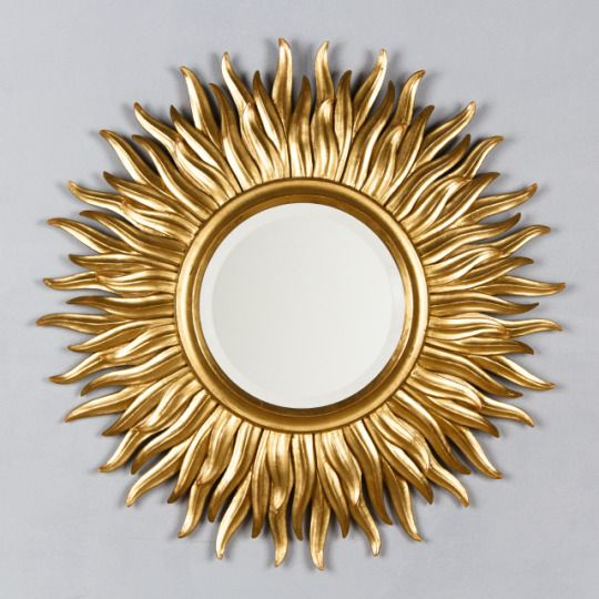 French Vintage Gilt Wood Sunburst Mirror ref. 14030 | French antiques | Négrel Antiques