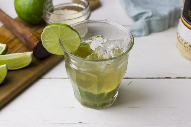 A Caipirinha is Brazil's national cocktail. It's made with cachaça, sugar, and fresh limes. It's flavorful, refreshing, and so easy to make.