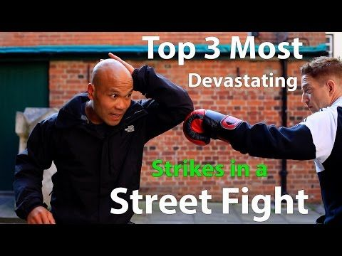 Top 3 Most Devastating Strikes in a Street Fight - YouTube