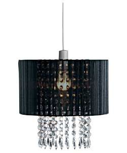 Grazia Voile Droplets Shade Black My Room Inspiration