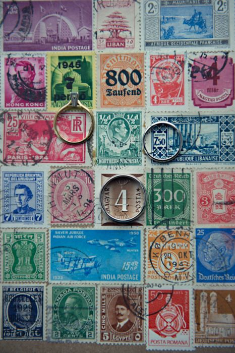 If only we had a stamp for every country we've visited together...