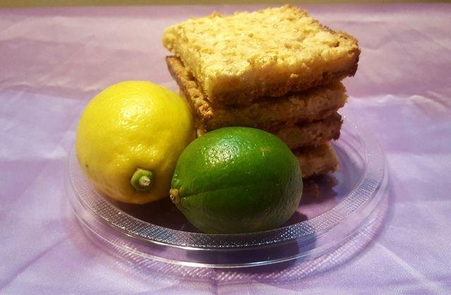Citrus Crunch Cookie Bar
