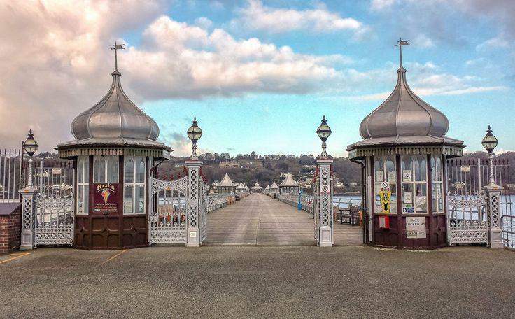 Bangor, North Wales, Victorian Pier.