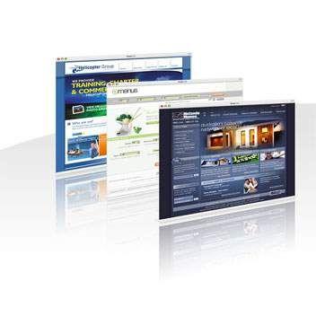 Oferim un produs complet de site web pentru afaceri, astfel garantam o identitate online profesionala. Fiecare site web este creat pe o platforma web dezvoltata de echipa Fiber IT.
