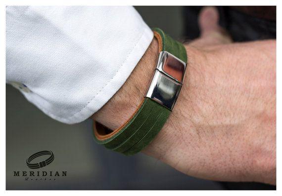 male bracelet, gift for him, wrap brecelet, mens bracelet, boyfriend gift, mens jewelry, leather wristband bracelet for men leather bracelet
