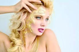 gold leaf makeup - Google Search
