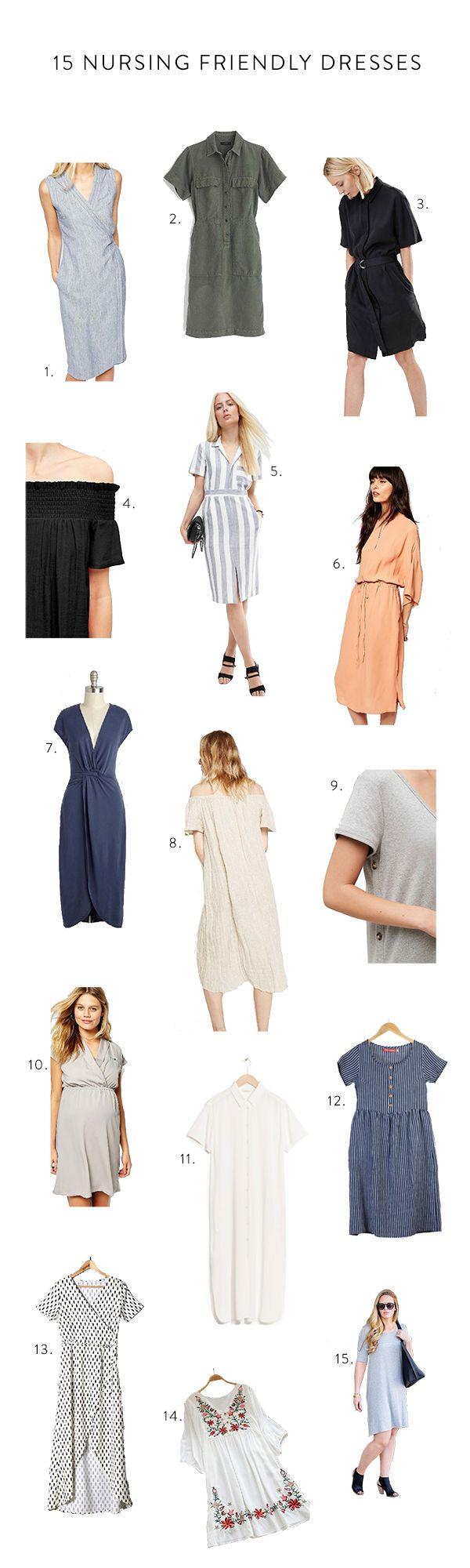 15 Nursing Friendly Dresses