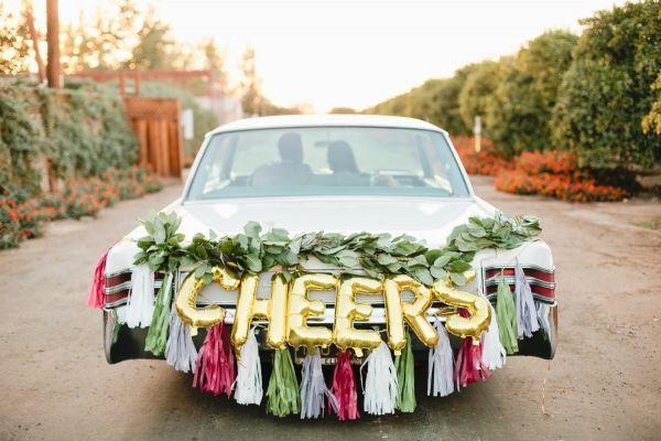 Getaway car decorations