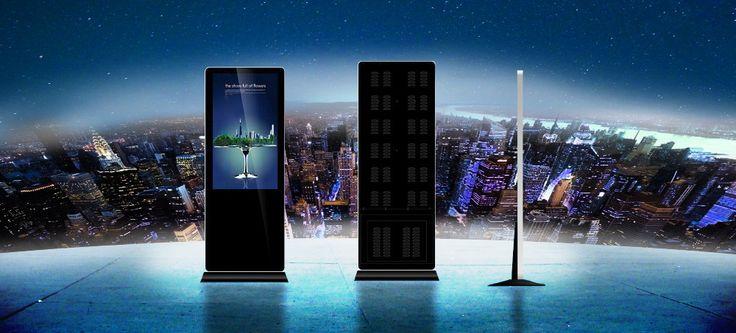 55 inch Indoor Wifi Screen LCD Advertising Player, floor stand advertising equipment, lcd advertising player buy Chungkong Ad-mart #CHUNGKONGADMART