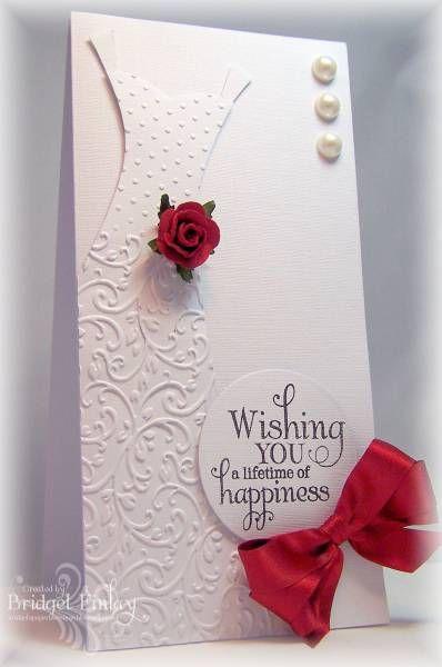 stamped handmade cards