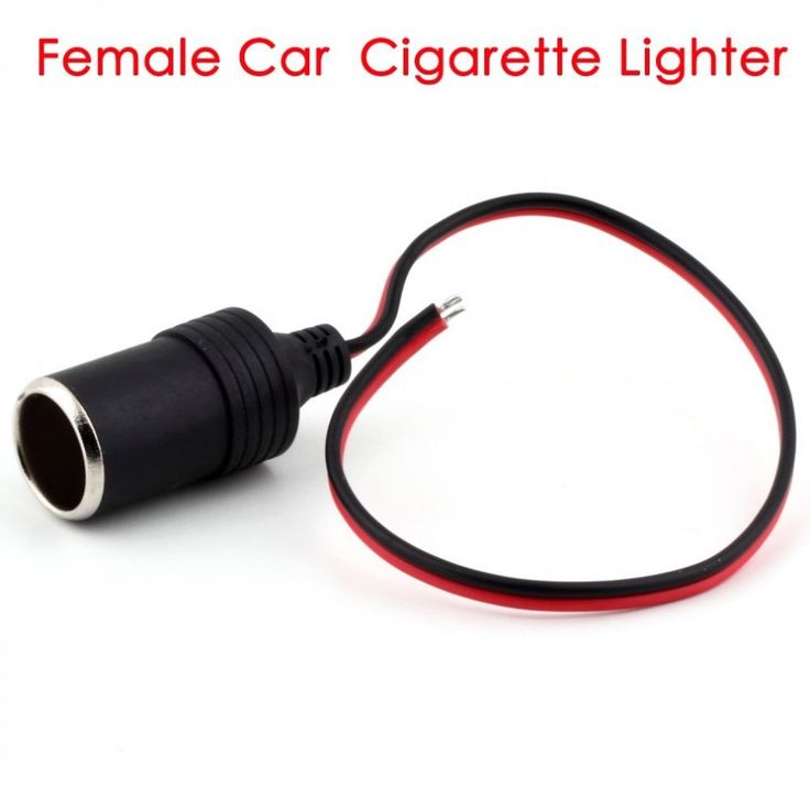 Female Car Cigaratte Lighter Socket  Extension Plug Connector Power Adapter New #UnbrandedGeneric