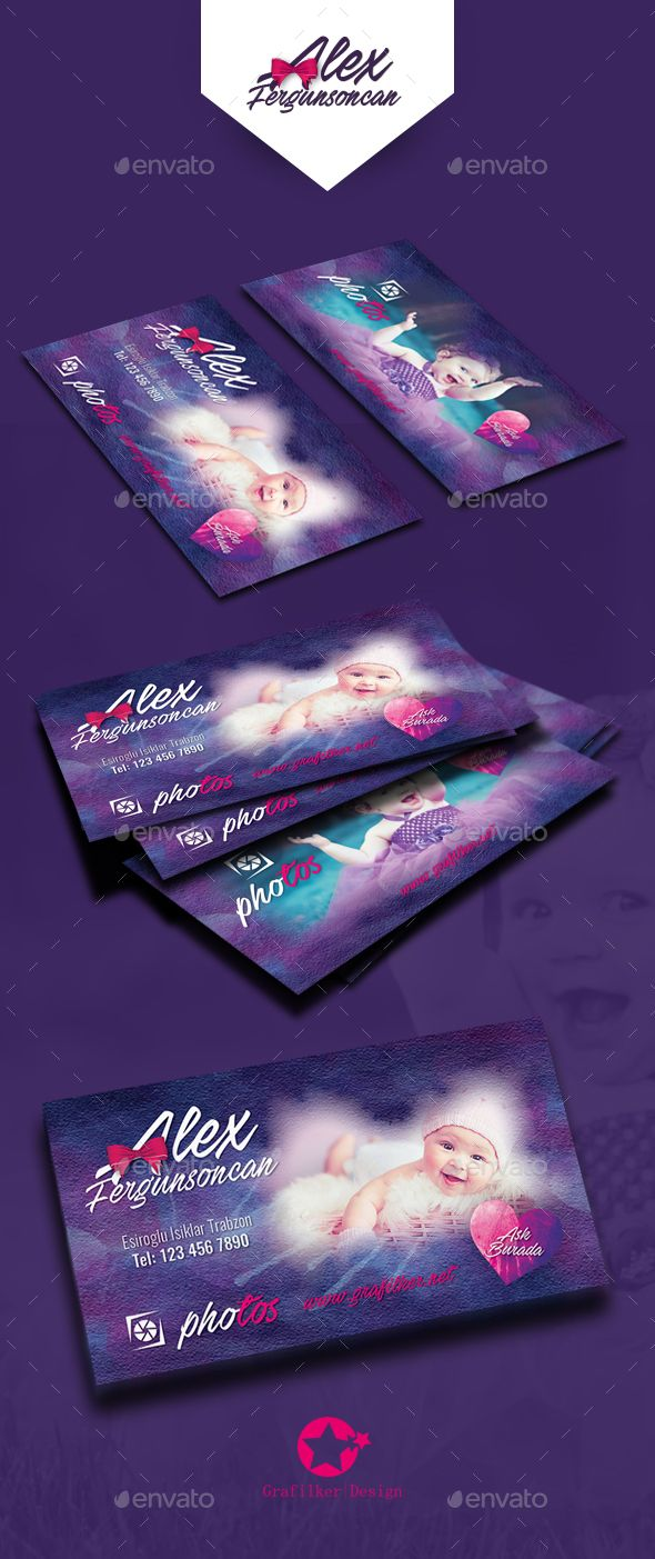 Baby Event Business Card Templates by grafilker Baby Event Business Card Templates Fully layeredINDDFully layeredPSD300 Dpi, CMYKIDML format openIndesign CS4 or laterCompletely e