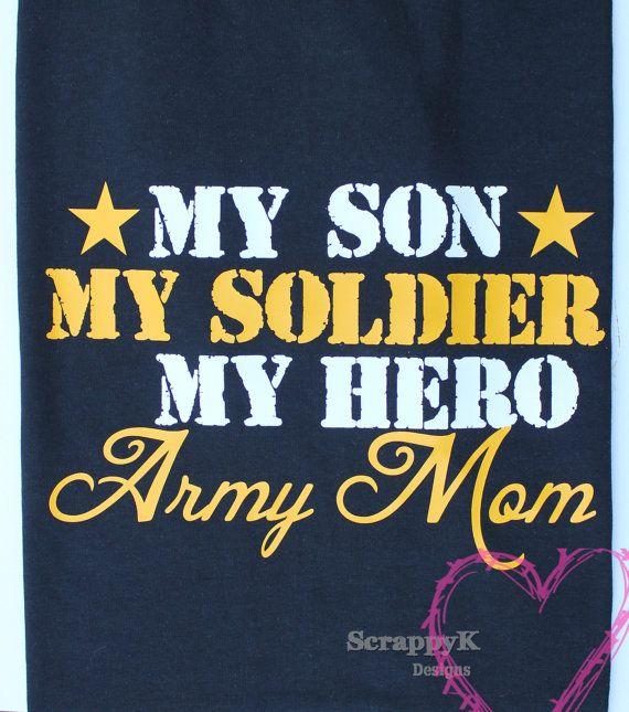 Army Mom t-shirt, Army Mom Tee, Military Tshirts, Military tee, Army tee for mom, sister, brother, son, husband