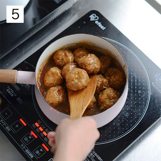 【料理家さんの定番レシピ】基本のかんたん常備菜、ミートボール。