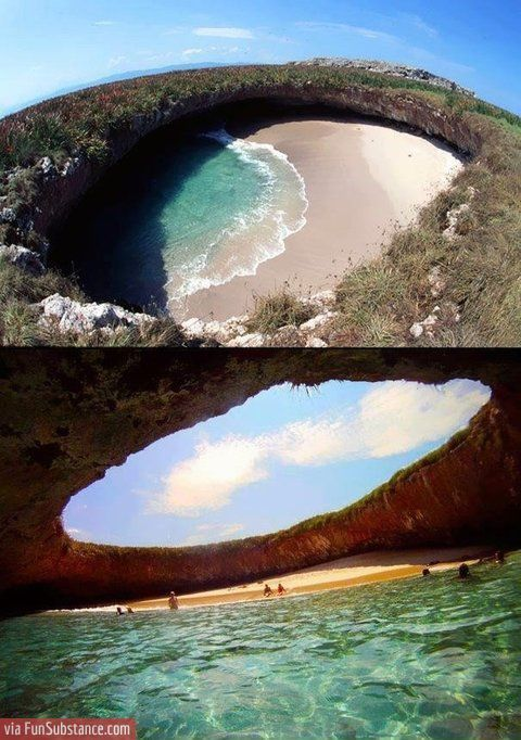 #Hidden Beach, Marieta Islands, Mexico
