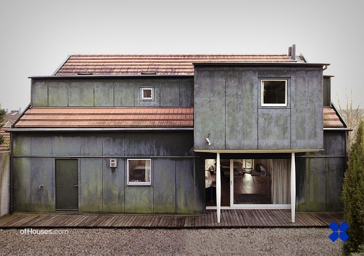 """ofhouses: """" 251. Valerio Olgiati /// House Kucher /// Rottenburg am Neckar, Germany /// 1991 OfHouses guest curated by Jeff Kaplon (Subtilitas): The idea of traditions (pt 2) Similar to Baum's..."""