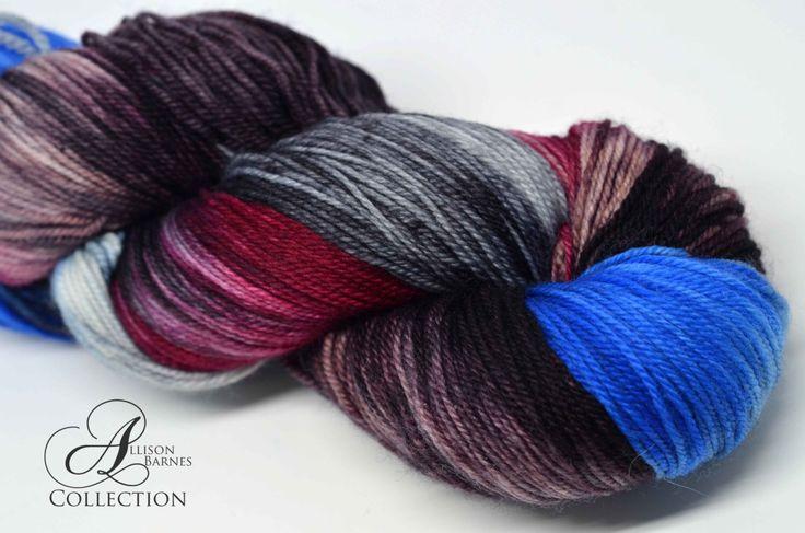 Hand Dyed Superwash Merino - Fingering sock weight yarn - My Hero by allisonbCOLLECTION on Etsy https://www.etsy.com/ca/listing/496814219/hand-dyed-superwash-merino-fingering