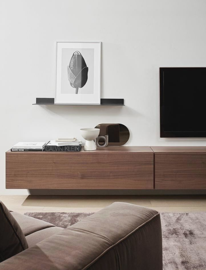 Tv Cabinets Cabinet Lugano With A Drawer And Vyklopnymi Installed Behind Doors Boconcept In 2020 Modern Tv Units House Interior Furniture Upholstery