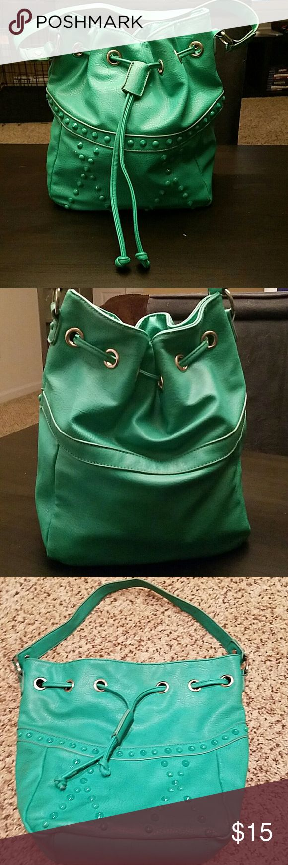 Teal studded purse Teal studded purse Shoe Dazzle Bags Shoulder Bags