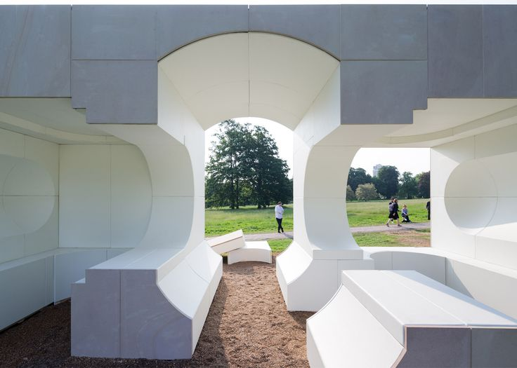 Kunlé Adeyemi designed one of the four Summer Houses built to accompany BIG's Serpentine Gallery Pavilion