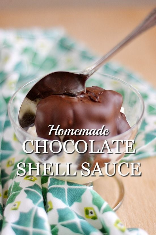 Ice Cream Hack: Homemade Chocolate Shell Sauce takes minutes to make. This ice cream hack will not only impress your kids but it tastes better than anything store bought.